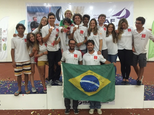Delegação brasileira_Crédito Bernardo Arndt