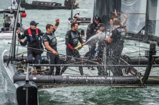 24/07/16 - Portsmouth (UK) - 35th America's Cup Bermuda 2017 - Louis Vuitton America's Cup World Series Portsmouth - Racing Day 2