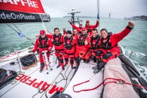 Leg Zero, Round Britain Island Race: on board MAPFRE, . Photo by Ugo Fonolla/Volvo Ocean Race. 02August, 2017
